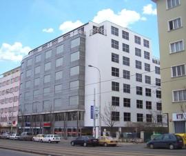 Vinohradská Business Center kanceláře Praha 3